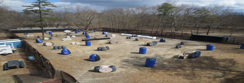 Photo of AC Paintballs outdoor paintball field in Williamstown Nj with obsticals and random places for cover