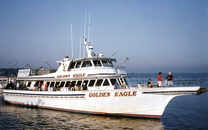 100' Golden Eagle professional party fishing boat in Monmouth County NJ