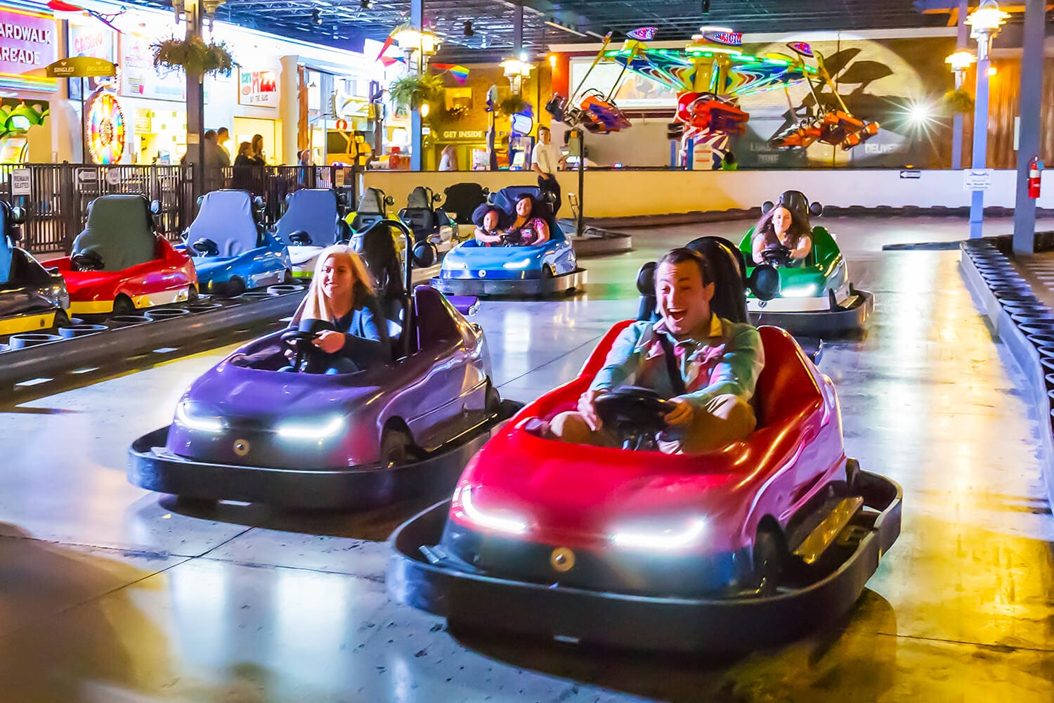 Beep Beep! Make way for your young child as they conquer Freehold's iPlay America!