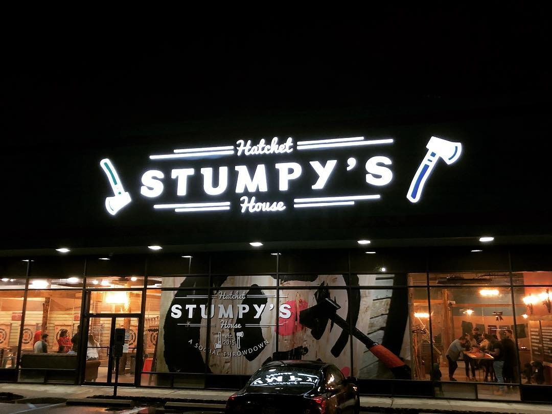 Stumpy?s Hatchet House Axe Throwing Arenas in NJ