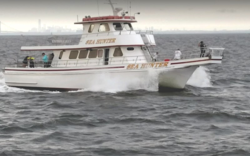 75' Sea Hunter fishing party boat excursions in New Jersey