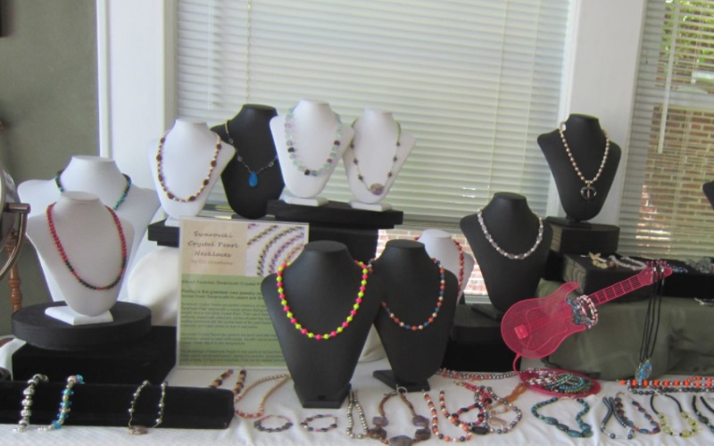 Make your own necklaces, bracelets, and more with North Jersey's own ASG Creations.