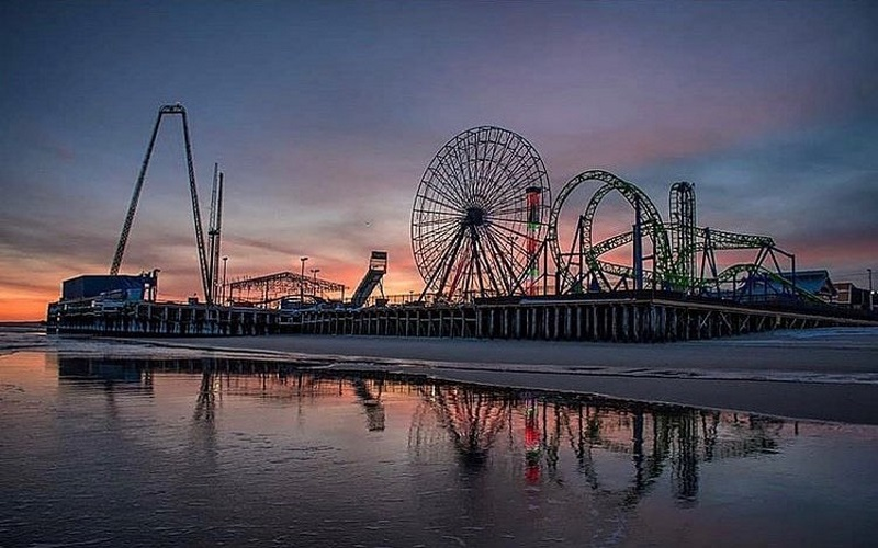 Stop at Casino Pier in Seaside Heights NJ for a great kids attraction at the Jersey Shore.