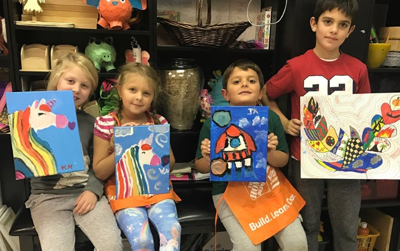 Bright Zebra Art Studio Party Places for Kids in Monmouth County