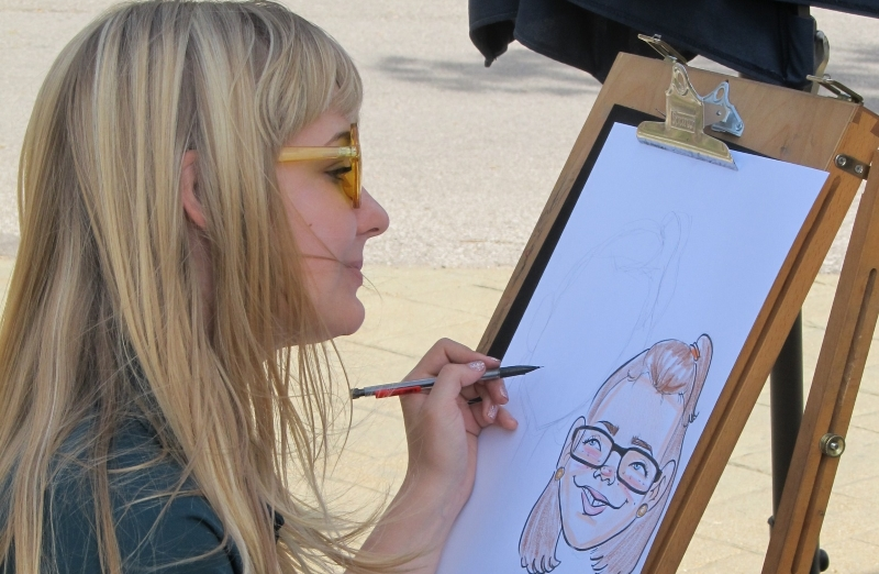 Funny Bonz Entertainment Caricatures in all of NJ