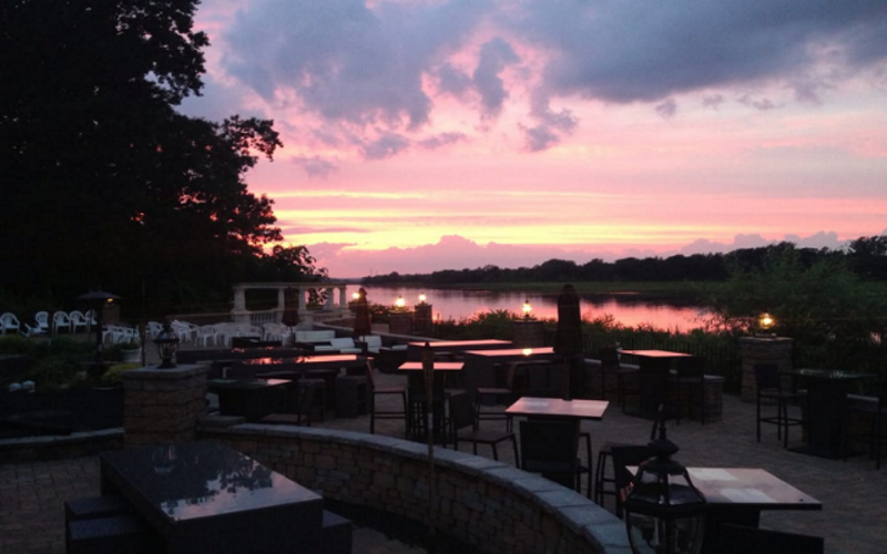Carlucci's Waterfront is Mount Laurel's premiere waterfront dinner destination.