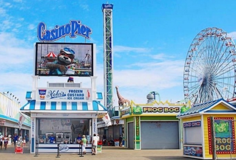 Casino Pier and Breakwater Beach Waterpark Toddler Attractions in Ocean County NJ