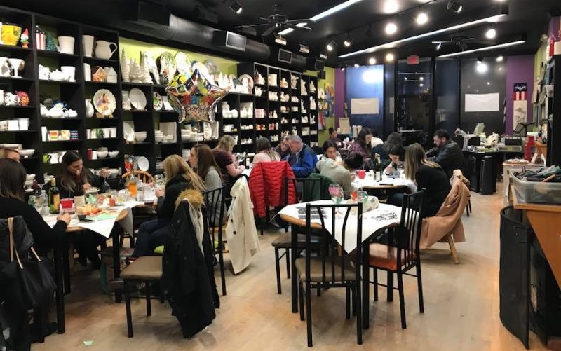 Creatively Yours Craft and Ceramic Parties in NJ