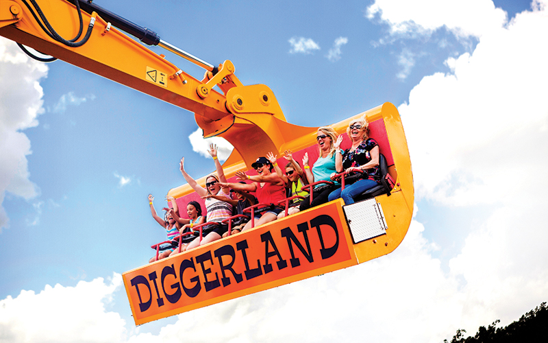 Diggerland Day Trips With Kids in NJ Camden County