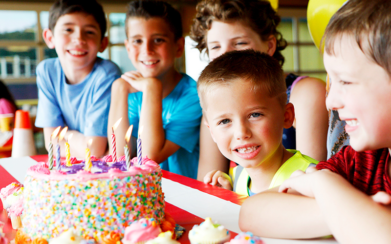 Diggerland USA Outdoor Party Places for Kids in NJ