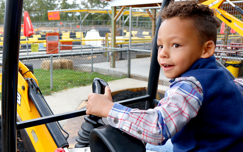Diggerland Family Attractions in NJ Camden County