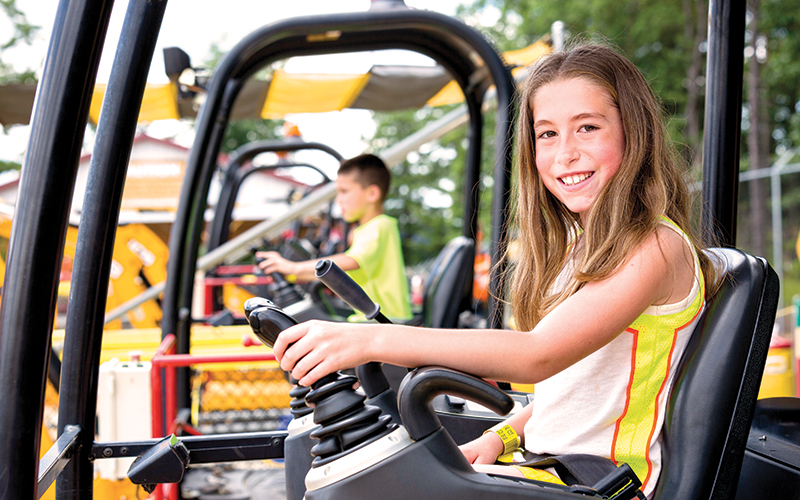 Diggerland Weekend Trips With Kids in NJ Camden County