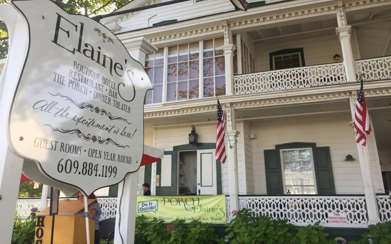 Join Elaine's for haunted ghost tours in Cape May NJ!