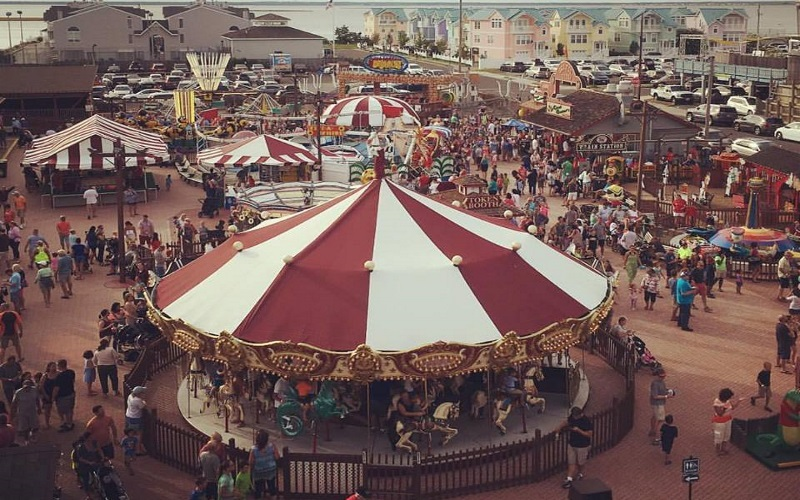 Fantasy Island has it all - old fashioned attractions at this amusement park in Beach Haven NJ.