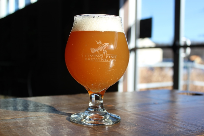 Flying Fish Brewing Co. offers guided tours Wednesday through Sunday.
