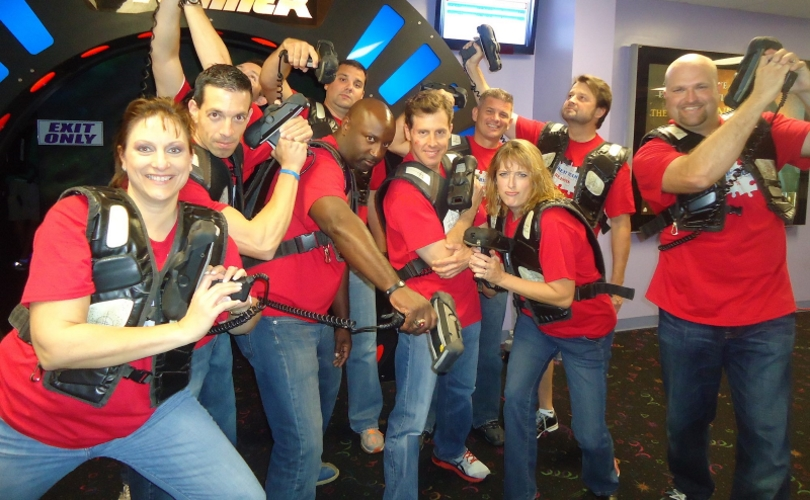 The Funplex Mount Laurel Laser Tag in New Jersey
