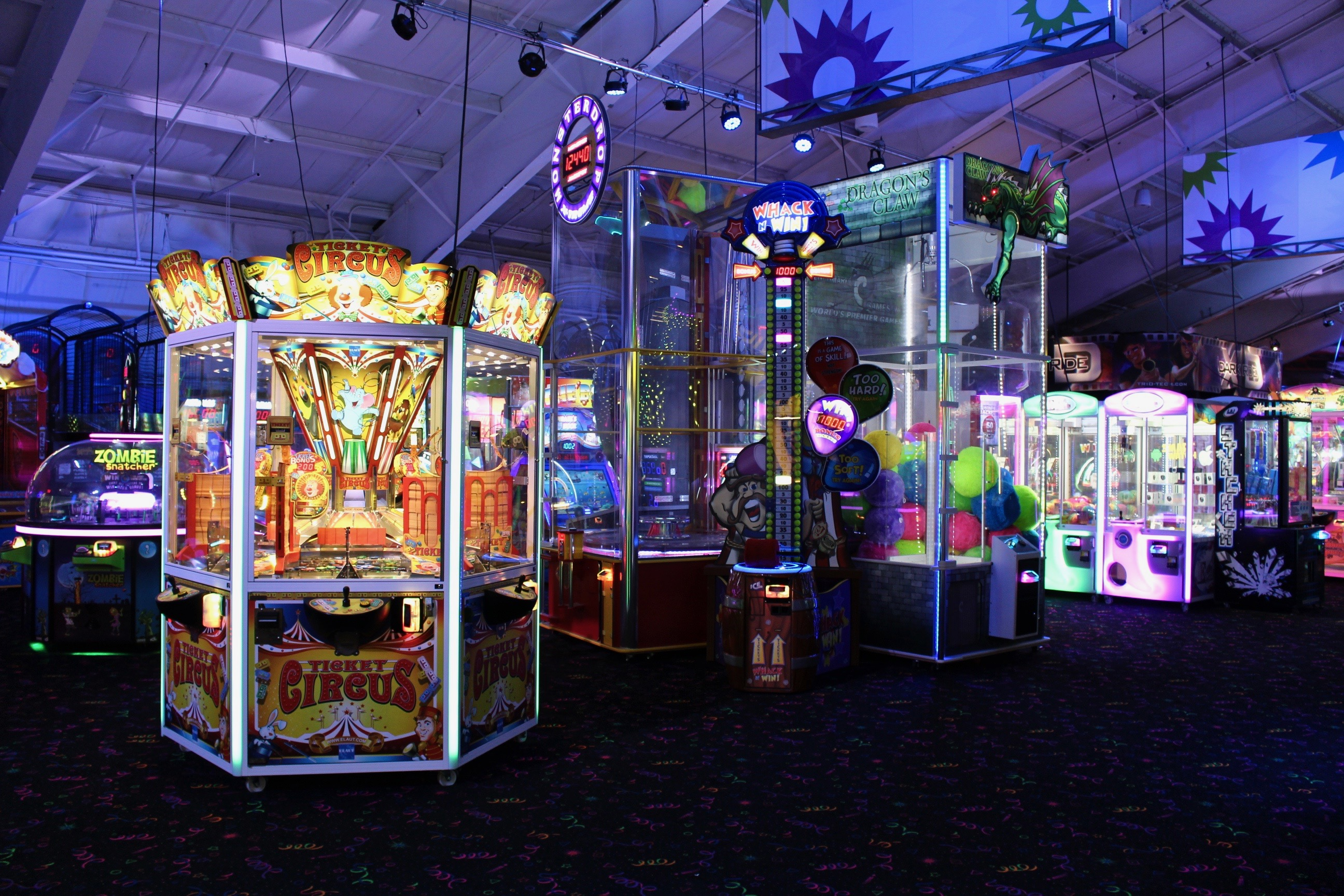 The Funplex East Hanover Arcades in Northern New Jersey