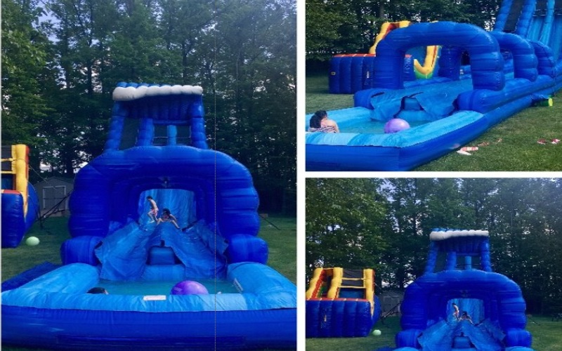Inflatable Water Slides in NJ Party Time Rentals