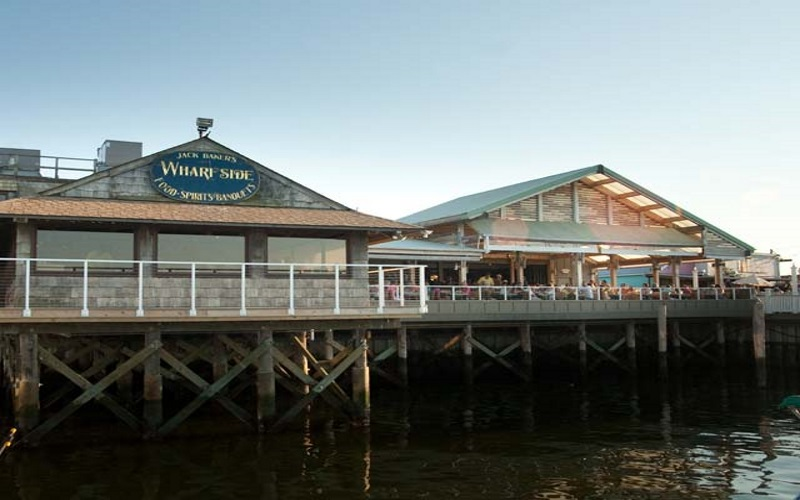 Jack Baker's Wharfside is you destination for waterfront dining and entertainment.