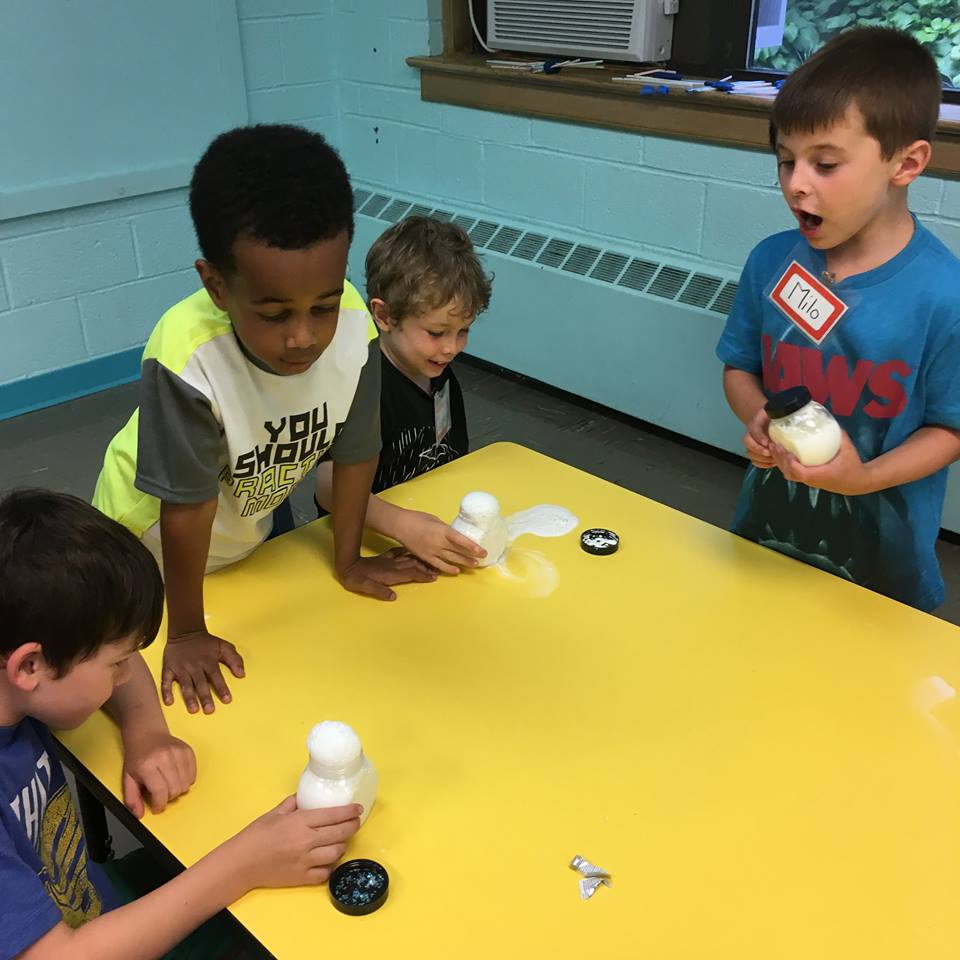 They can learn and observe all things math and science at L-3 Academy in Montclair NJ!