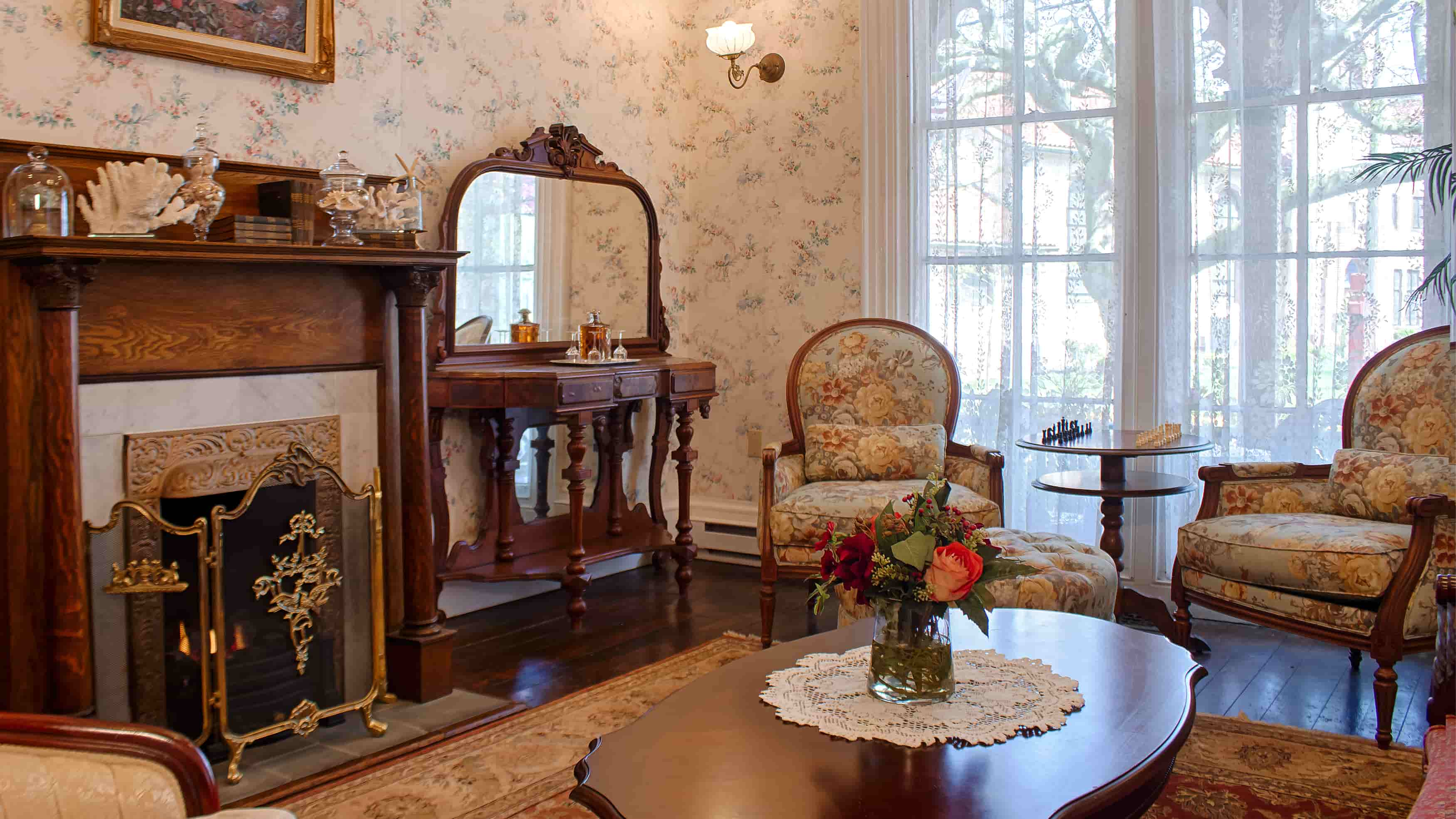 This intimate Cape May Bed And Breakfast provides you with a relaxing stay by the beach.