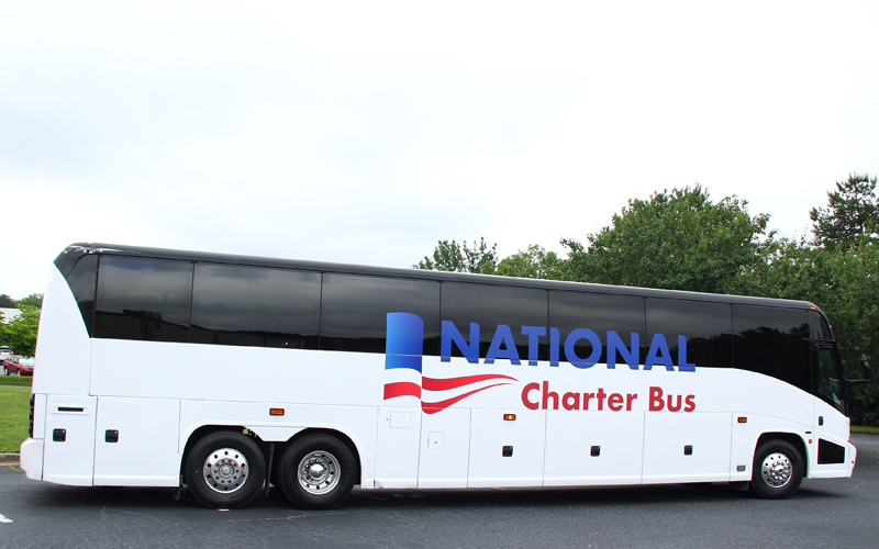 National Charter Bus group transportation
