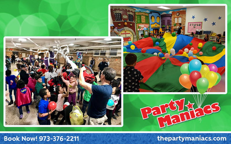 Party Maniacs Party Places for Toddlers in NJ