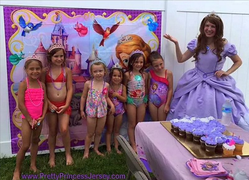 Pretty Princess Jersey Southern NJ Party Entertainers