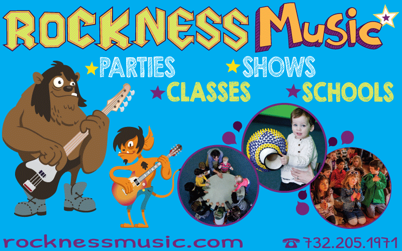 Rockness Music Toddler Parties in NJ