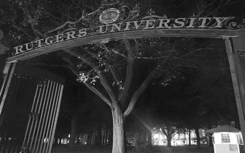 Rutgers University is just part of this walking tour of New Brunswick NJ.