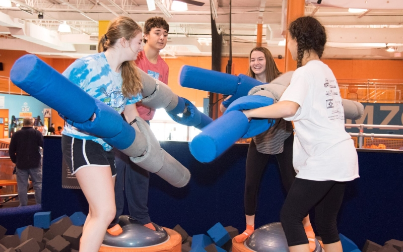 Sky Zone of Ocean Township Play Party in Central NJ