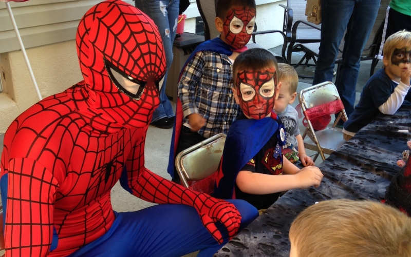 POW! Costume Character Parties in NJ Southern NJ