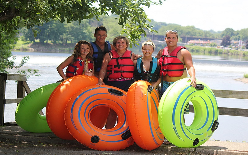 Tube with the whole outdoorsy family at Twin River Tubing in Phillipsburg, NJ!