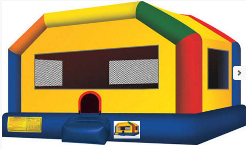 Just one of the many equipment pieces that is offered at Parties  at Parties Are Us Rentals.