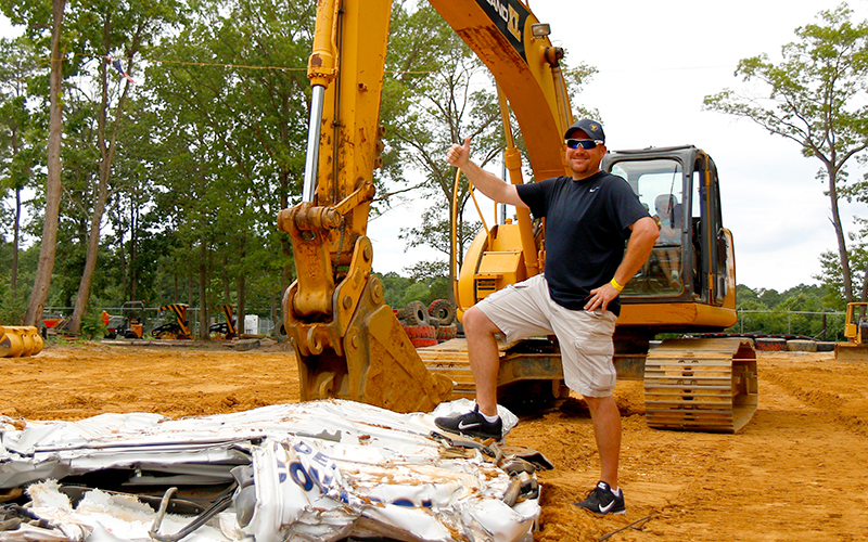 Diggerland XL - Men's Group Activities in Camden County