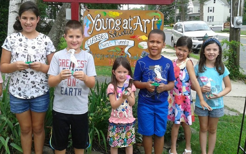 Create your own masterpiece at Young At Art Studio in Matawan NJ.