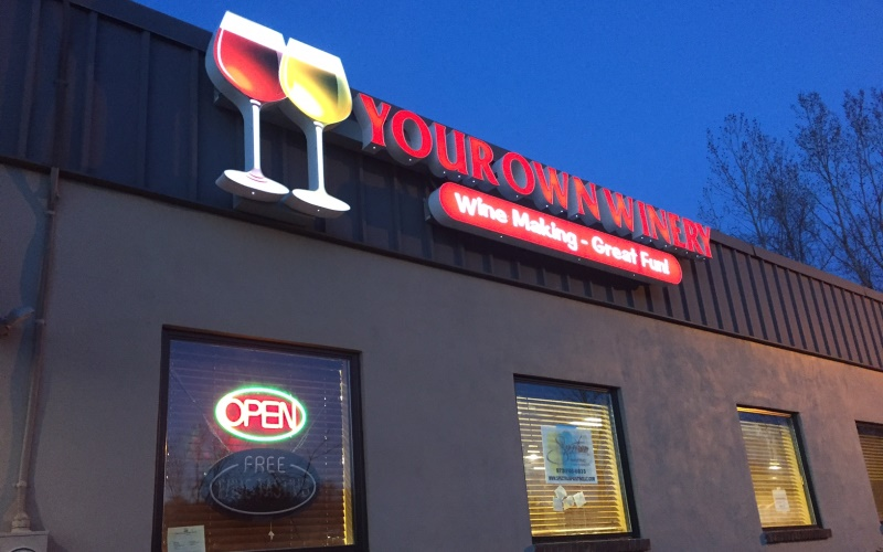Image of new Your Own Winery store in Butler NJ