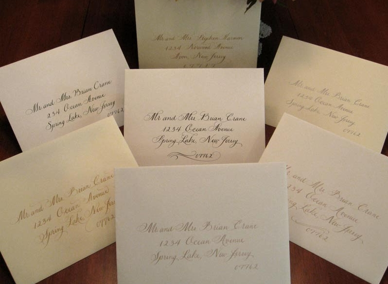 A Touch of Ink Calligraphy Calligraphers in NJ
