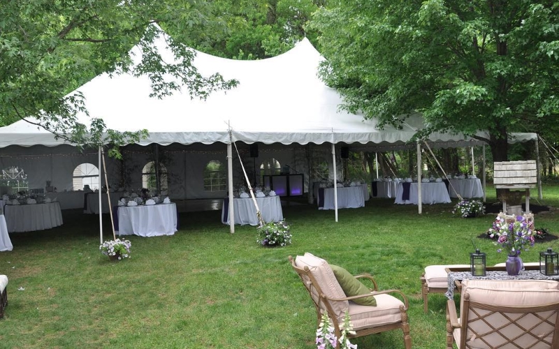 Adams Party Rentals Tables and Chairs in Southern NJ