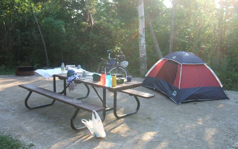 Allaire State Park Camping