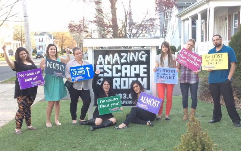 Amazing Escape Room Group Outings in NJ