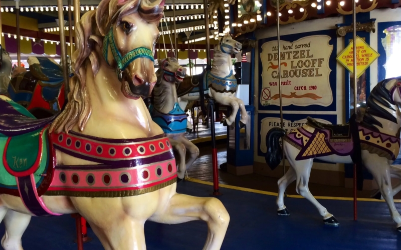 Antique Carousel Attractions Guide Seaside Heights NJ