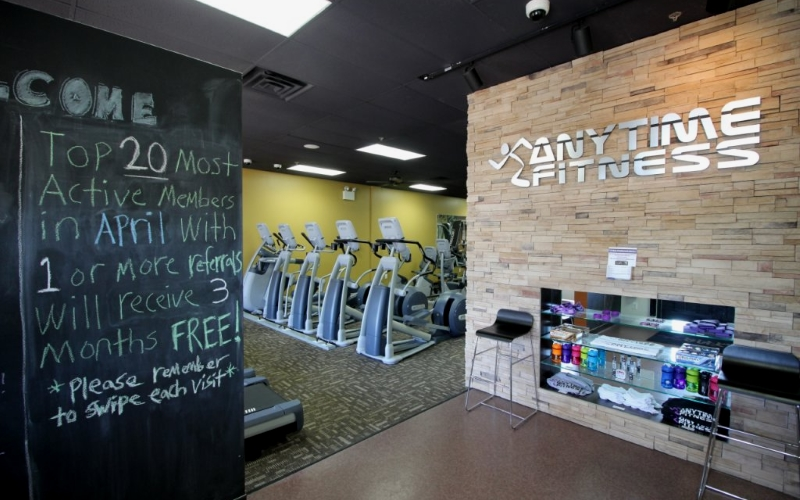Anytime Fitness Centers New Jersey