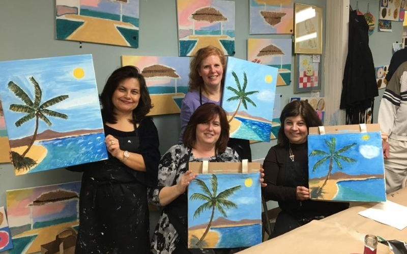 Around the Corner Art Center Painting Classes Freehold NJ