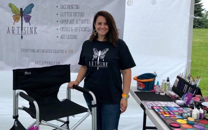 Art Sink Professional Face Painters in Central NJ
