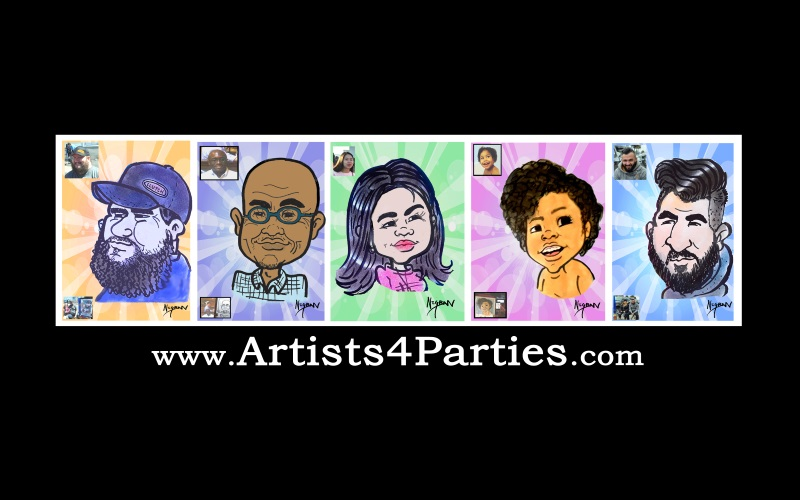 Artists4Parties.com Caricature Artists in NJ