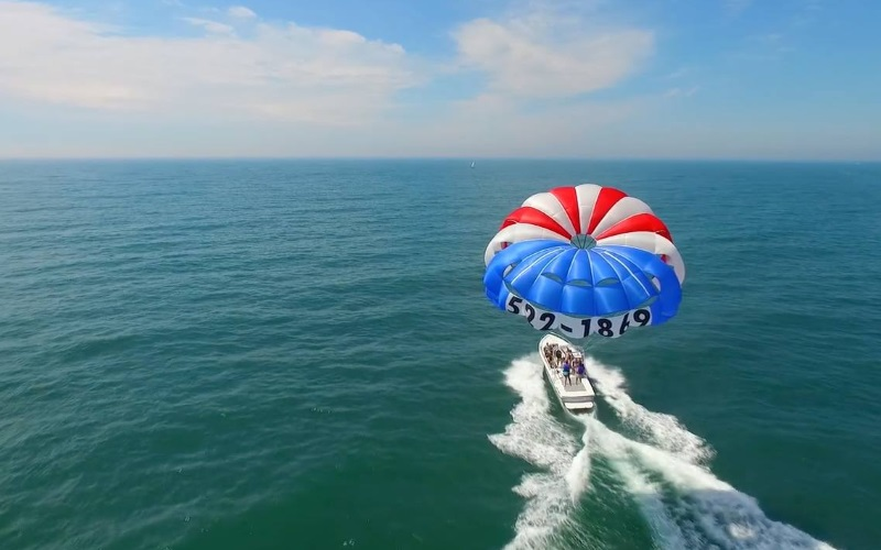 Atlantic Parasail Top Attractions in Southern NJ