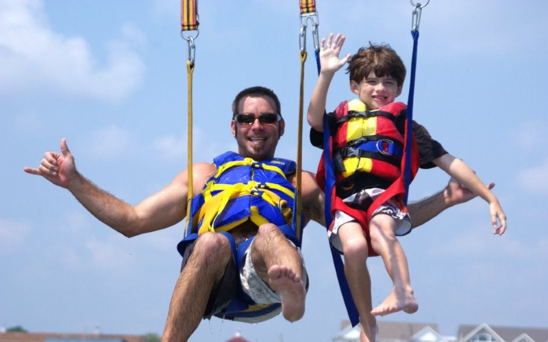 Belmar Parasail Top Attractions in Monmouth County NJ