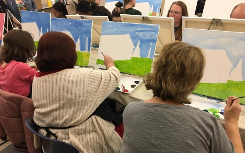 Canvas and Cocktails BYOB Canvas Painting Classes in Monmouth County NJ