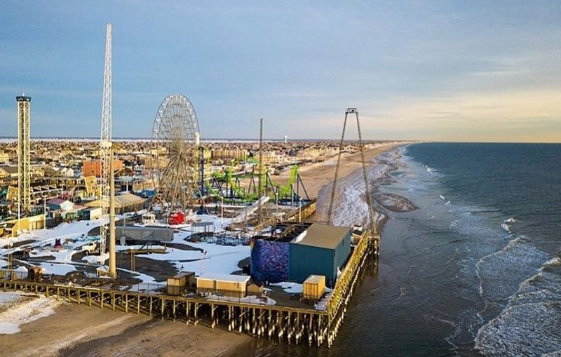 Casino Pier and Breakwater Beach Jersey Shore Kids Party Places in NJ